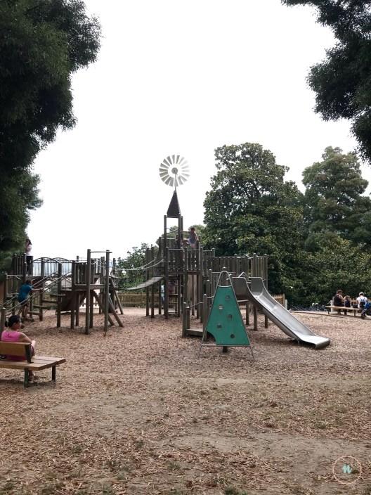 zona toboganes parque de los sentidos