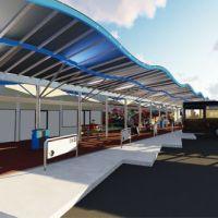 Se inauguran las obras en la terminal de Escobar