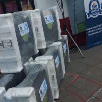 Se entregaron estufas para jardines, primarias y secundarias públicas del distrito