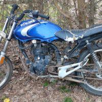 Menor detenido por conducir moto robada