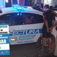 Prefectura Naval Argentina aprehendió a 73  personas en Noviembre.