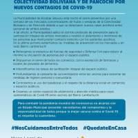 COVID-19 en Escobar: nuevo cierre del mercado de Pancochi y la colectividad Boliviana por contagios