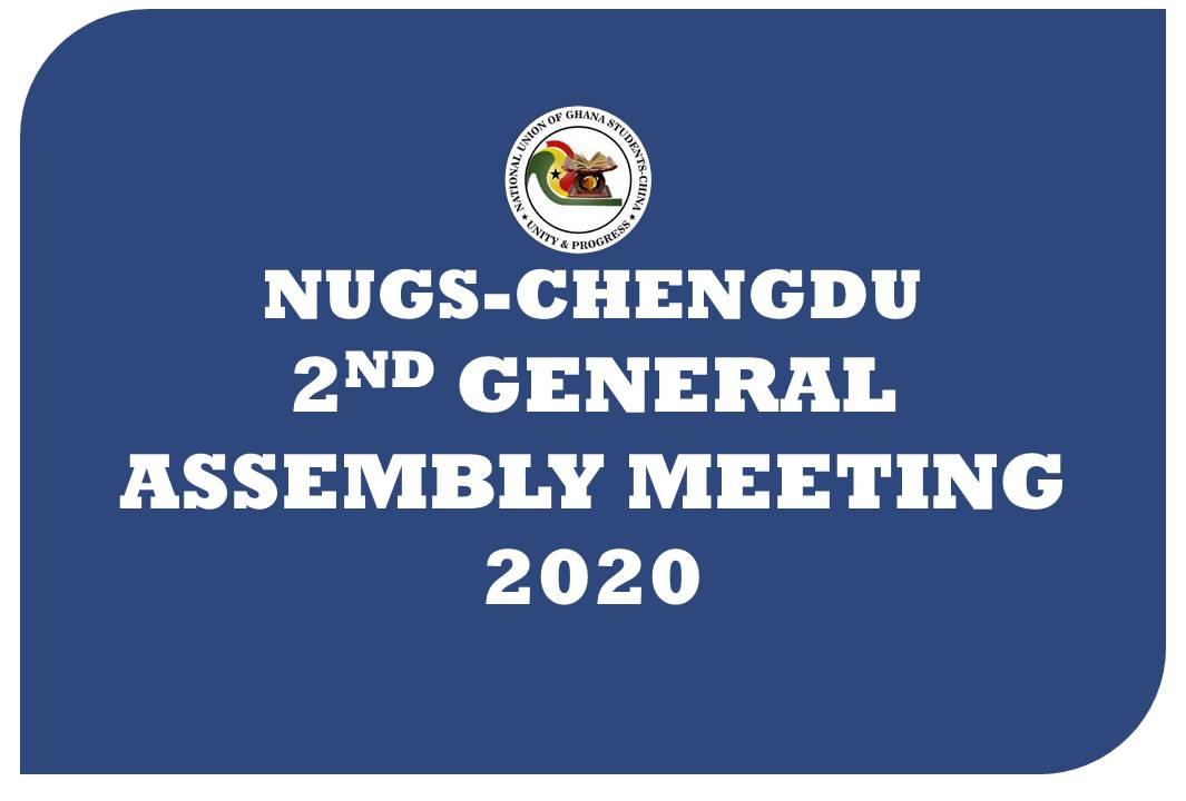 NUGS-Chengdu 2nd General Assembly Meeting 2020