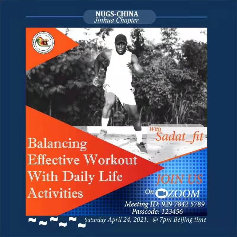 Balancing Effective Workout With Daily Life Activities