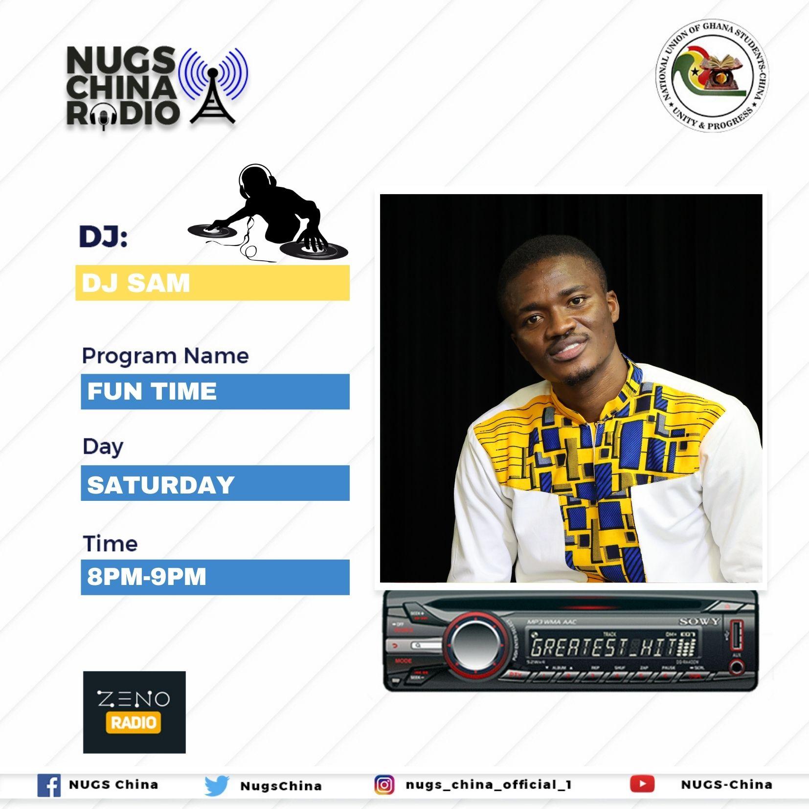 NUGS-China Radio: Fun time with DJ Sam