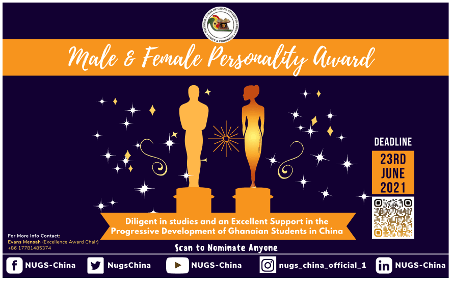 Nomination of Personality Awards 2021