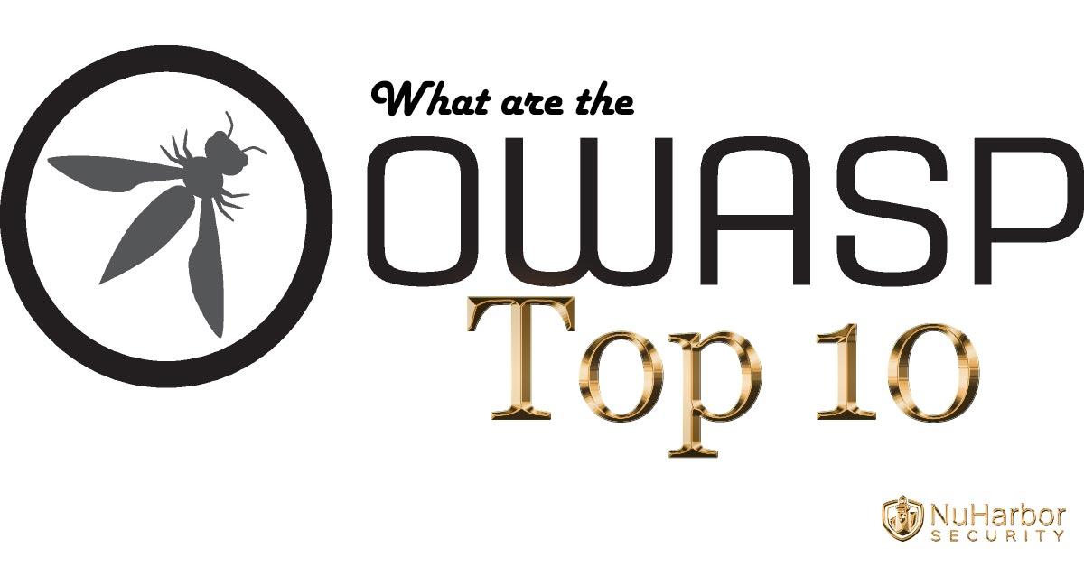 What exactly are the OWASP Top 10? | NuHarbor Security
