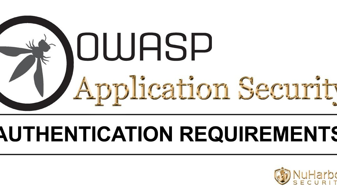 10 Application Security Authentication Requirements