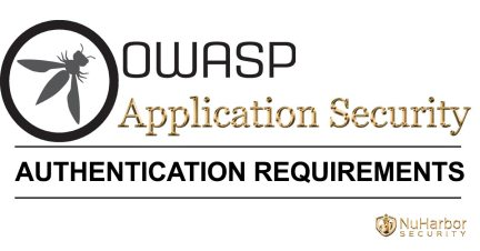 OWASP Application Security Authentication Requirements | NuHarbor Security