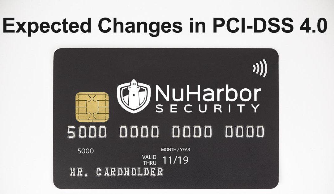 PCI Data Security Standard 4.0
