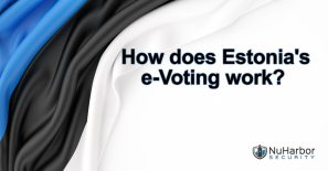 Summary text of the Estonian election security and voting process.