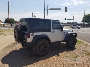 Jeep Wrangler tint