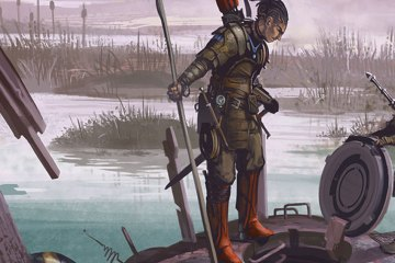 Two explorers investigate a mysterious hatch in the middle of a swamp.
