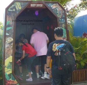 Body Dryer Legoland Malaysia