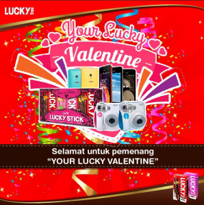 53 Pemenang Your Lucky Valentine