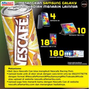 Nescafe Racing Point : Menangkan Samsung Galaxy & Hadiah Menarik Lainnya!