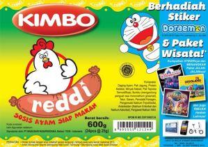 Kumpulkan Sticker Sosis Kimbo Reddi, Berhadiah Paket Wisata & Hiburan Menarik Lainnya!