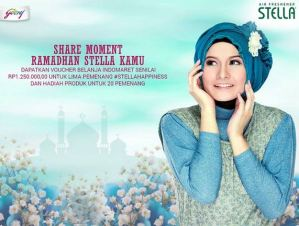 Share Moment Ramadhan Stella, Raih Voucher Belanja