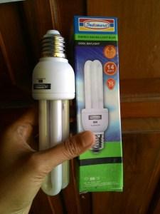 Lampu Indomaret : Lumayan Bertahan 8 Bulanan
