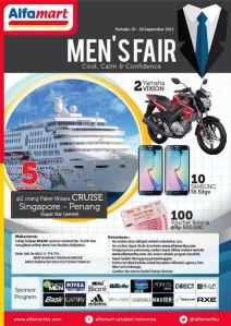 Mens Fair Alfamart Berhadiah Paket Wisata Cruise Singapore - Penang