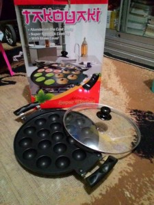 Kiwi Takoyaki Pan : Tebalnya 19 Lubang Cetakan Kue