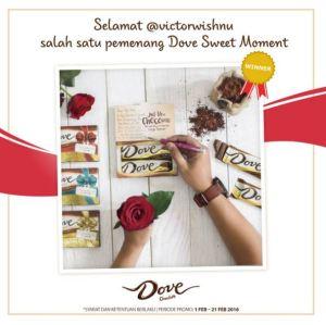 62 Pemenang Dove Sweet Moment