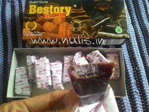 Dodol Bestory Coklat : Saking Enaknya Ga Berasa Lagi Makan Dodol