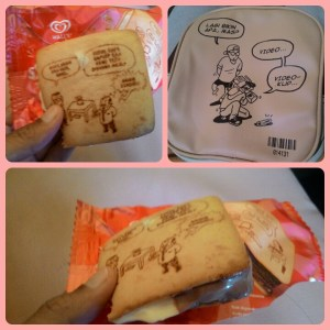 Walls Ice Cream Sandwich : Ice Cream Unik & Gokiel