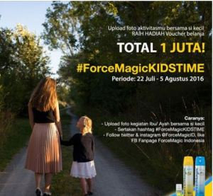 Force Magic Kids Time Berhadiah Voucher Belanja