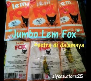 Lem Putih Fox PVAC : Tak Hanya Untuk Plamur & Kayu