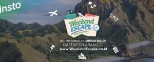Weekend Escape Writing Competition Berhadiah Trip Ke Labuan Bajo