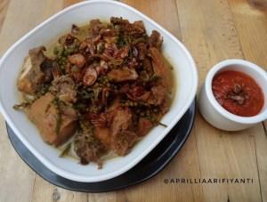 Uceng Kuah Daging Panggang