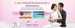 LACTACYD ROMANTIC JOURNEY INDOMARET BERHADIAH TRIP KE TURKI
