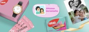 Momen Bersama Ibu Nabati Berhadiah Jam Cantik Jutaan Rupiah