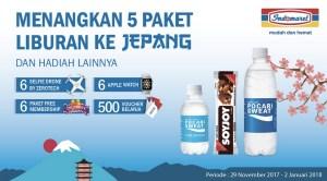 Beli Produk Otsuka Berhadiah 5 Paket Liburan Ke Jepang