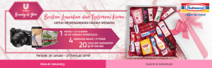 Unilever Beauty Is You Berhadiah Kamera Mirrorles
