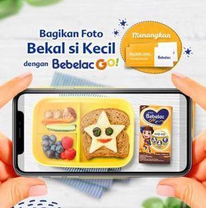 Bekal Favorit Anak Bersama Bebelac Go, Berhadiah Voucher Belanja!