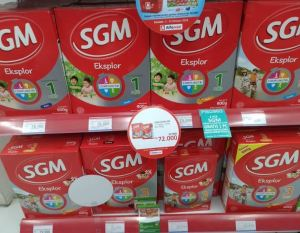Promo Double-Double SGM Di Alfamidi, Yuk diborong!