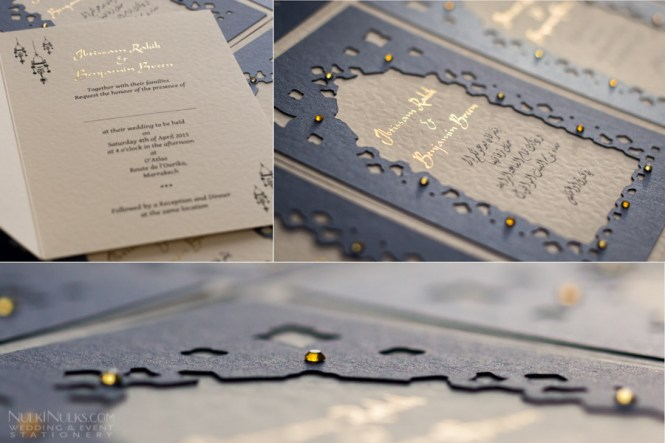 Exclusive Moroccan Theme Collection Wedding Invitations