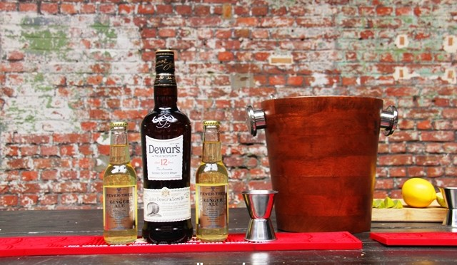 In the Mix: DEWAR'S White Label  & Ginger Ale