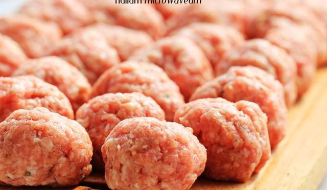 Zelfgemaakte Meatballs