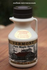 Little Charlie's Sugarbush maple syrup 1166