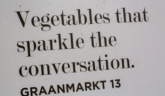 Graanmarkt 13 en Parmaham