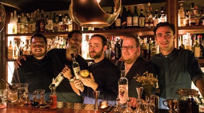 Belle Fleur, een eau de vie van Jigger's en Distillerie de Biercée