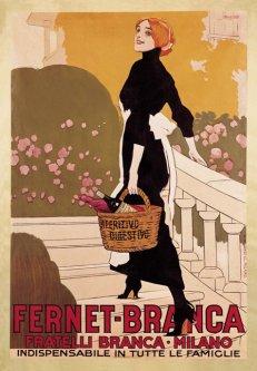 Fernet Branca Aperitivo Digestivo Vintage Poster (8)