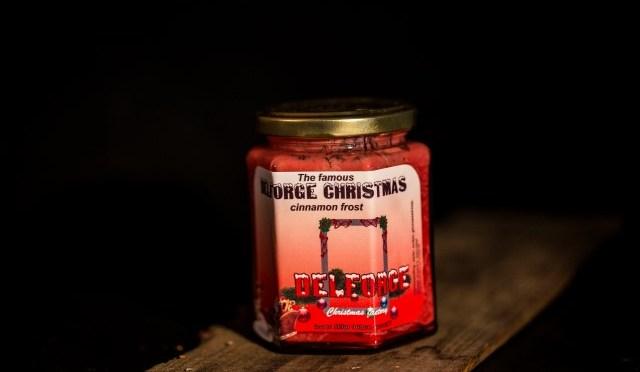 Delforge Christmas Cinnamon Frost weggeefactie