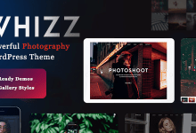Whizz v2.0.2 - Photography WordPress for Photography