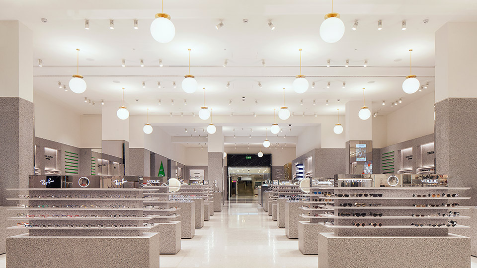 Selfridges Eyewear Destination Nulty Lighting Design