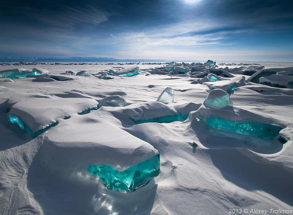 Lago Baikal, Siberia