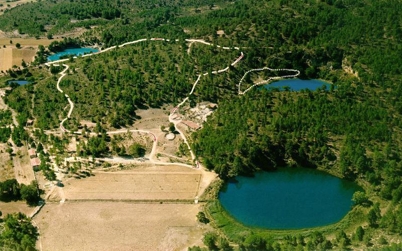 Lagunas de Cañada del Hoyo, Cuenca, España